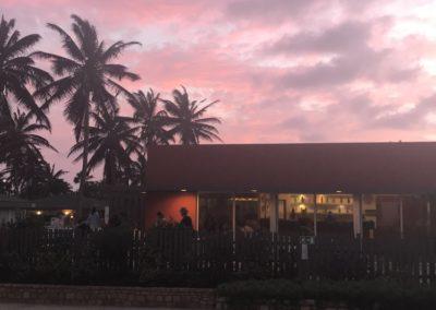 Zachód słońca na Sal