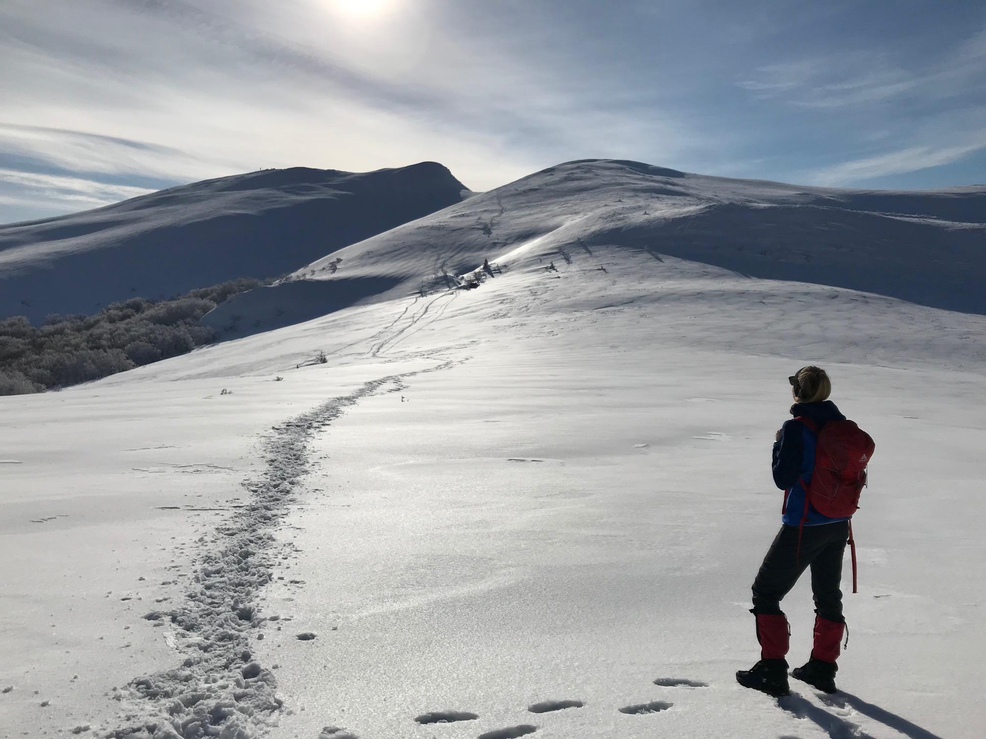 Bukowe Berdo zimą