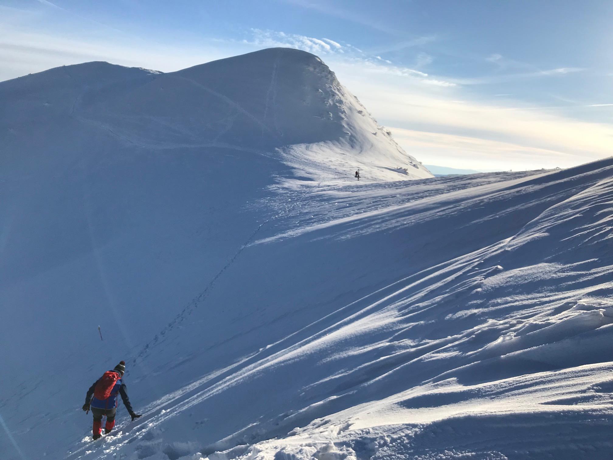 warunki w Bieszczadach zimą