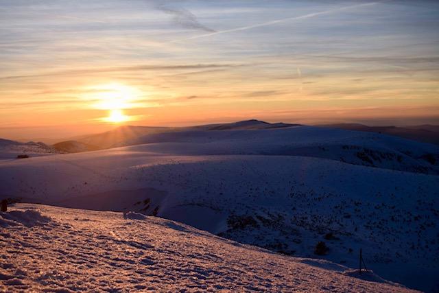 Śnieżka z Przełęczy Okraj